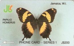 *GIAMAICA* - 7JAMA - Scheda Usata - Giamaica