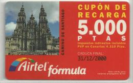 = SPAIN -  AIRTEL  - 24  - MY COLLECTION = - Airtel