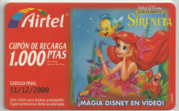 = SPAIN -  AIRTEL  - 26  - MY COLLECTION = - Airtel