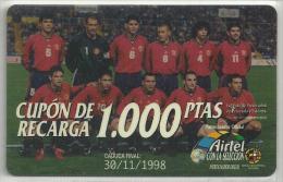= SPAIN -  AIRTEL  - 30  - MY COLLECTION = - Airtel