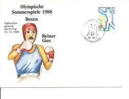 JO De Séoul-1988 -Boxe ( FDC De Corée Du Sud à Voir) - Zomer 1988: Seoel
