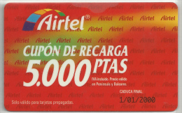 = SPAIN -  AIRTEL  - 32  - MY COLLECTION = - Spain