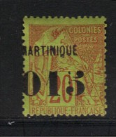 MARTINIQUE N° 6 * Signé A.Brun - Ungebraucht