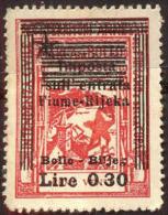 YUGOSLAVIA - JUGOSLAVIA - ITALIA - FIUME - RIJEKA - REVENUE BOLLO  - **MNH - 1946 - Yugoslavian Occ.: Fiume
