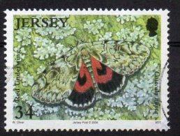 JERSEY 2006 Butterflies & Moths 34p Used - Jersey