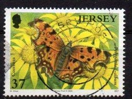 JERSEY 2006 Butterflies & Moths 37p Used - Jersey