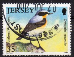 JERSEY 2008 Migrating Birds 35p Used - Jersey