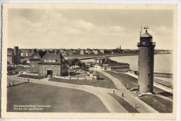 Nordseeheilbad Cuxhoven - Portie Am Leuchtturm - Formato Piccolo Viaggiata Mancante Di Affrancatura - V - Cuxhaven