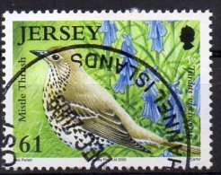 JERSEY 2009 Songbirds 61p Used - Jersey
