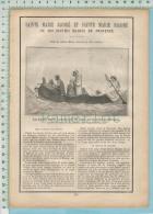 Biographie Et Gravure De ( Ste Jacobé & Ste Marie Salomé Conduite Par Les Anges  ) Fêté Le (22 Octobre) 4 Pages - Religione & Esoterismo