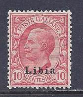 Libya, Scott # 4 MNH Italy Stamp Overprinted,  CV$42.50, 1912 - Libya