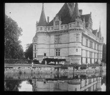 VO578 - INDRE ET LOIRE - Chateau D' AZAY LE RIDEAU - Plaques De Verre
