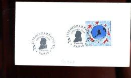 Enveloppe Premier Jour 1er Fdc Fabriquée 16X9 Mozart 1991 Paris - FDC