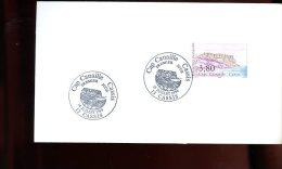 Enveloppe Premier Jour 1er Fdc Fabriquée 16X9 Cap Canaille Cassis 1990 - 1990-1999