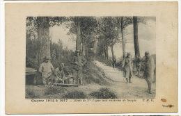 Soupir Guerre 1914 A 1917 Abris Du 2eme De Ligne Aux Environs De Soupir TMK Poilu WWI - France