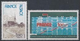 France N°1921-1922 ** Neuf Luxe - Ungebraucht