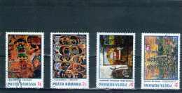 1985 -  TABLEAUX DE IOAN TUCULESCU  MI No 4156/4158 Et Yv No 3583/3586 - 1948-.... Repúblicas
