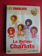 DVD  LES CHARLOTS  COLLECTION FOUS RIRES  LE RETOUR DES CHARLOTS  UN FILM DE JEAN SARRUS - Cómedia