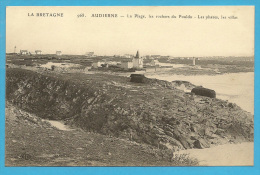 29 : Audierne  , La Plage , Les Rochers Du Pouldu... - Audierne