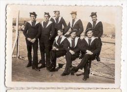 Photographie Photo Marins Marine  11 Novembre 1936 Bateau - Lieux