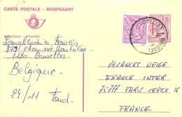 Entier Postal Belgique - Stamped Stationery