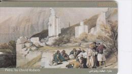 Jordan, JOR-J-08a, David Roberts Paintings, Petra, Cm: Sc7, 2 scans.