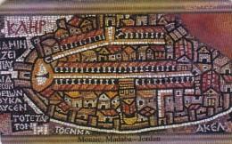 Jordan, JOR-J-20, Mosaics From Madaba, Mosaic 1, 2 scans.