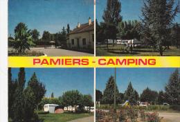 CPM  De PAMIERS   (09) -  Le CAMPING CARAVANING MUNICIPAL - N° 5316 - Pamiers