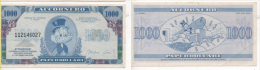 Sor138 Banconota Da 1000 Papardollari, Gadget Accornero, 1988, Paperone, Disney, Frollini Nonna Papera INTROVABILE - Sorpresine