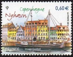 France N° 4640 ** Capitales Européennes - Copenhague - Nyhavn - France