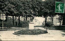 N°35647 -cpa Flers -le Square Delaunay- - Flers