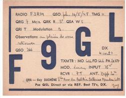 CARTE RADIO - QSL - CARTE RADIO QSL - FRANCE - MEUDON - 1948. - Radio Amateur