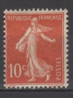 France N° 135 Luxe ** - 1906-38 Sower - Cameo