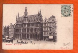 1 Cpa Bruxelles Maison Du Roi - Places, Squares