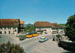 Mathod, Bus Postal Et Citroen DS, Cpm (13288) - VD Vaud