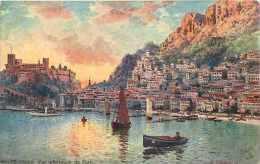 Dépts  Divers - Monaco - Ref H404  - Monte-carlo -vue Intérieure Du Port  -  Carte Illustrée  - Carte Bon état - - Monte-Carlo