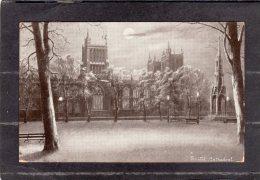 44096    Regno  Unito,  Bristol  Cathedral,  VG  1912 - Bristol