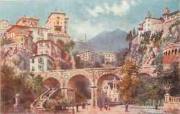 Dépts  Divers - Monaco - Ref H403  - Monte-carlo  L'église Sainte-dévote   -  Carte Illustrée  - Carte Bon état - - Monte-Carlo