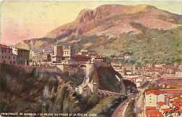 Dépts  Divers - Monaco - Ref H402-monte-carlo-le Palais Du Prince Et La Tête De Chien - Carte  Illustrée  Bon état - - Palais Princier