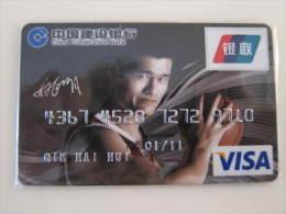 China Invalided Credit Card,NBA Basketball Star Yao - Sport