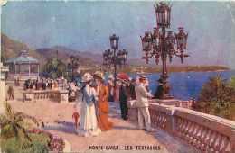 Dépts  Divers - Monaco - Ref H200  -monte-carlo- - Les Terrasses - - Monte-Carlo