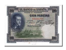 Espagne, 100 Pesetas Type Felipe II - [ 2] 1931-1936 : Repubblica