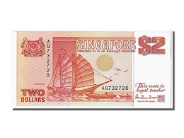 Singapour, 2 Dollars Type 1990 - Singapour