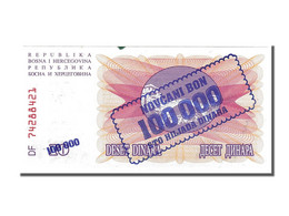 Bosnie-Herzégovine, 100 000 Dinara Type 1993 - Bosnië En Herzegovina
