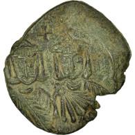 Monnaie, Léon V L'Arménien, Follis, Syracuse, TTB+, Cuivre, Sear:1635 - Byzantines