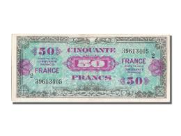 [#202566] 50 Francs Type Verso France, 1944, V Fayette 24.2 - Treasury