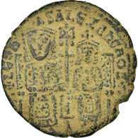 Monnaie, Leo VI The Wise 886-912, Follis, Constantinople, TTB, Cuivre, Sear:1730 - Byzantines