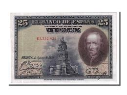 [#153813] Espagne, 25 Pesetas Type De La Barca - 1-2-5-25 Pesetas
