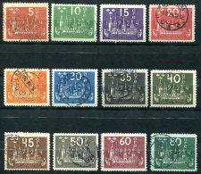 3058 - SCHWEDEN - Mi.Nr. 144-155 Gestempelt (UPU 1) - SWEDEN, Used Set - Gebruikt