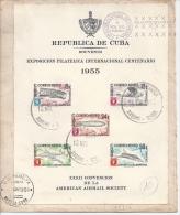 Exposition Philatelique International, 1955 - Cuba